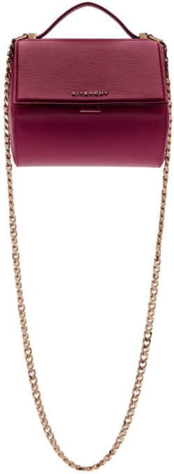 Givenchy Pink Mini Pandora Box Chain Bag