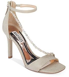 Badgley Mischka Women's Erika Crystal Embellished High-Heel Sandals