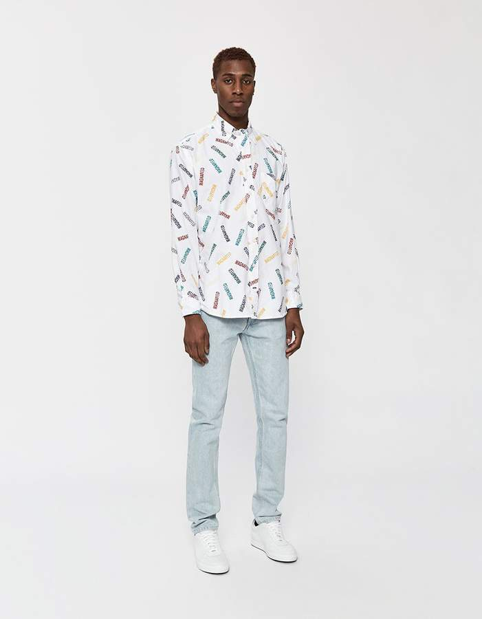 Gitman Brothers GV x Magnified Oversized Oxford Shirt