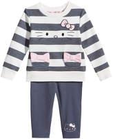 Hello Kitty 2-Pc. Striped Top & Leggings Set, Baby Girls (0-24 months)