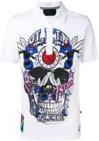 Philipp Plein skull print T-shirt - men - Cotton - XXL