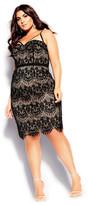City Chic Brianna Dress - black
