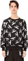 Boy London Boy Logo Printed Cotton Sweatshirt