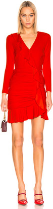 Veronica Beard Odessa Dress in Poppy | FWRD