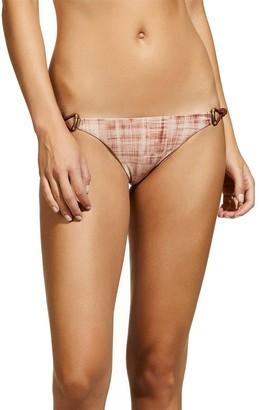 Vix Women's Rustic Thai Cord Full Coverage Bikini Bottom