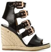 Laurence Dacade buckled wedge heel sandals