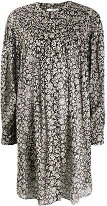 Etoile Isabel Marant Floral Print Smock Dress