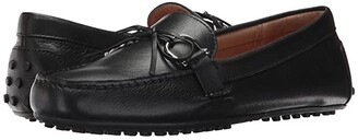 Lauren Ralph Lauren Briley Moccasin Loafer (Black Super Soft Leather) Women's Shoes