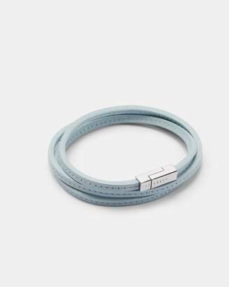 Ted Baker CRINK Leather wrap bracelet