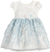 Bonnie Jean Floral-Applique Dress, Little Girls (4-6X)