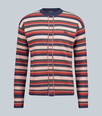 Loewe Striped Anagram wool sweater