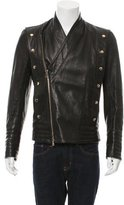 Balmain Blouson Leather Jacket