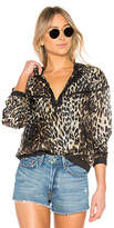 KENDALL + KYLIE Leopard Bomber