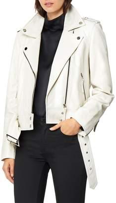 Habitual Aubrey Leather Moto Jacket