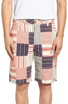 Tailor Vintage Men's Patchwork Plaid Shorts