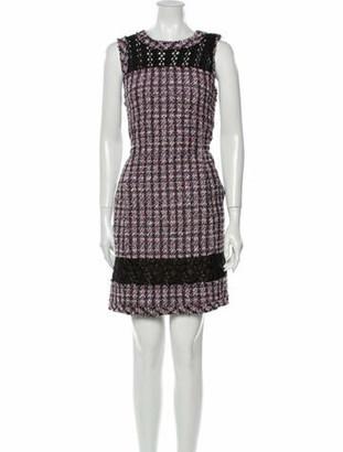 Oscar de la Renta 2017 Mini Dress Black