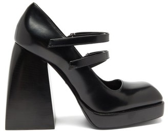 Nodaleto Bulla Babies Platform Mary-jane Sandals - Black