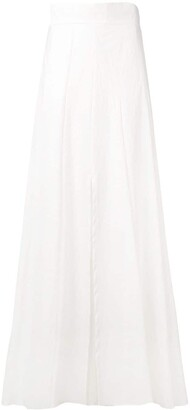 Brunello Cucinelli Maxi A-Line Skirt