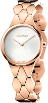 Calvin Klein K6E23646 Snake rose gold-plated stainless steel watch