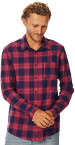 Swell Vynal Ls Mens Shirt Red