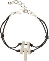 Oxford Vera Bracelet Leather/Silver