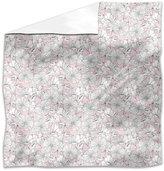 uneekee Scrapbook Hibiscus Flat Sheet