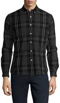 Life After Denim Cotton Beacon Checkered Slim Fit Sportshirt