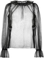Dolce & Gabbana - blouse à effet de t