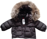Moncler Brown Polyester Jacket coat
