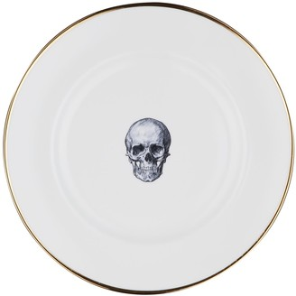 Melody Rose London Skull Bone China Dinner Plate
