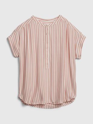 Gap Easy Popover Shirt