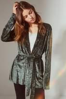 Urban Outfitters Velvet Robe Jacket