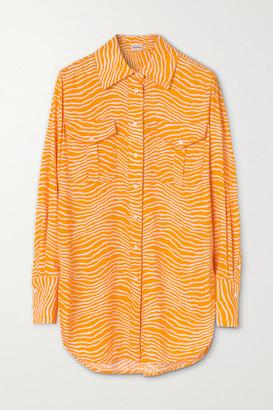 By Malene Birger Feeria Printed Crepe Shirt