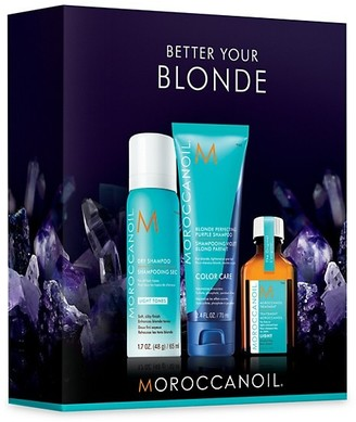 Moroccanoil Better Your Blonde 3-Piece Set