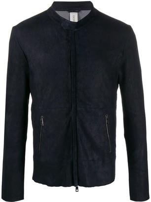 Giorgio Brato Zip-Up Suede Jacket