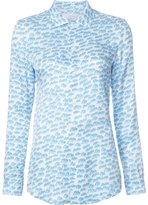 Julien David printed shirt - women - Silk - XS