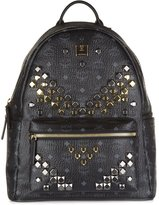 MCM women's leather rucksack backpack travel