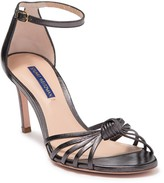 Stuart Weitzman Sena 75 Ankle Strap Leather Sandal