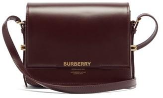 Burberry Grace Small Leather Cross-body Bag - Burgundy