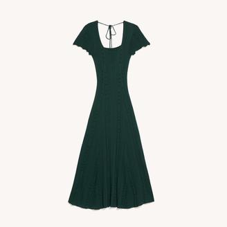 Sandro Long Knit Dress