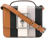 Rebecca Minkoff hook up handle clutch - women - Leather/Polyester - One Size