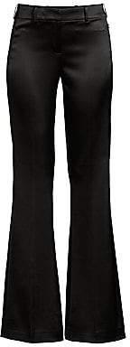 Elie Tahari Women's Anna Satin Flare Pants - Size 0
