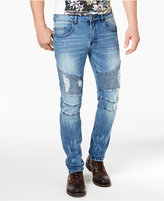 Young and Reckless Men's Sunset Moto Skinny Jeans
