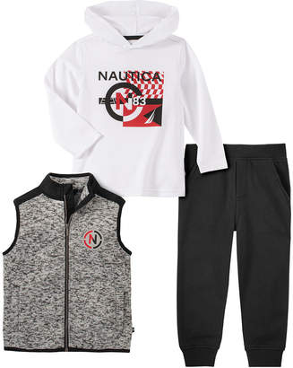 Nautica 3Pc Vest Set