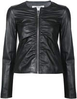 Elizabeth and James ruched zip jacket