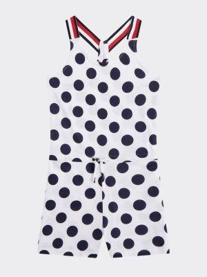Tommy Hilfiger All-Over Polka Dot Print Playsuit