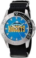 Game Time Men's NBA-STA-DEN Starter Analog Display Japanese Quartz Black Watch