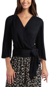 Gigi Parker Women's Long Sleeve Wrap Top