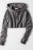 American Eagle Outfitters Don't Ask Why Cropped Hoodie