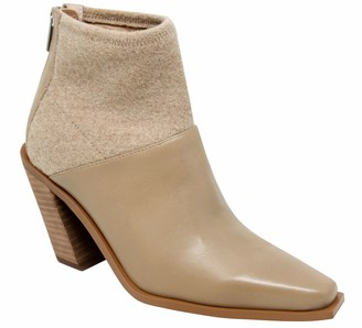 Charles by Charles David CHARLES DAVID Back Zip Leather Booties - Fallyn